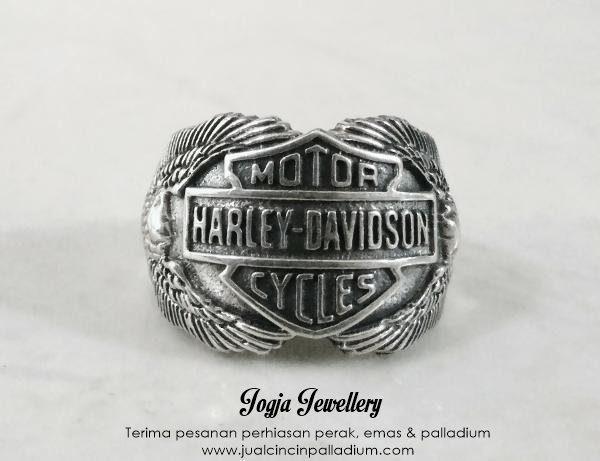 Cincin_Perak_Logo_Harley_Davidson